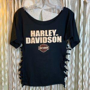 Harley-Davidson San Jose Distressed Sweatshirt